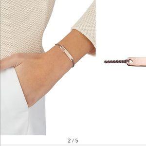 Monica Vinader Engravable Friendship Bracelet NWT